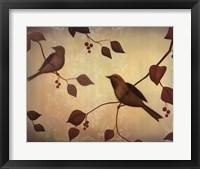 Framed Bird Song II