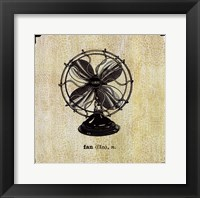 Framed Office Fan