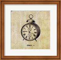 Framed Office Clock