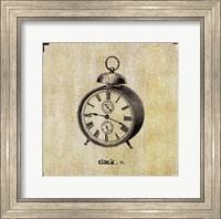 Framed Office Clock