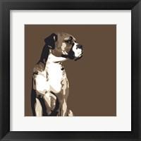 Framed Boxer