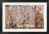 Framed Tree of Life, c.1909 (triptych)