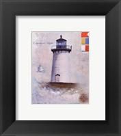 Framed Edgartown Light