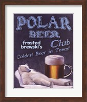 Framed Polar Beer Club