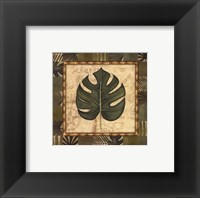 Tropical Leaf IV - Special Framed Print