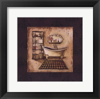 Bath Time III Framed Print