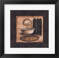 Bath Time IV Framed Print
