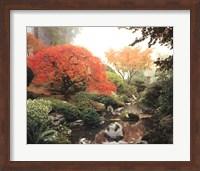 Framed Japanese Garden I