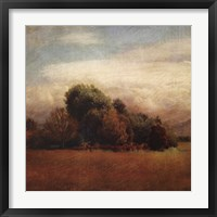 Autumn Horizon I Framed Print
