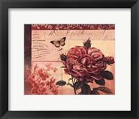 Le Rose A Monte I Framed Print