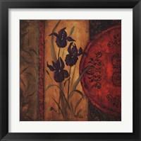 Framed Iris Fusion I