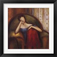 Framed Pensive I