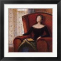Framed Pensive II