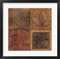Organic Montage II Framed Print