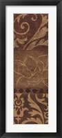 Framed Comme Chocolat I