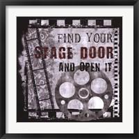Framed Stage Door