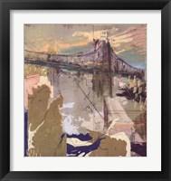 Bridge the Gap Framed Print