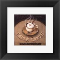 Cafe-Latte Framed Print