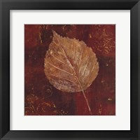 Framed Golden Fall I