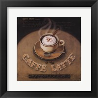 Framed Cafe-Latte