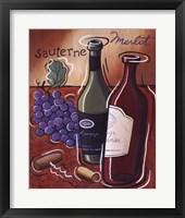 Framed Sauterne