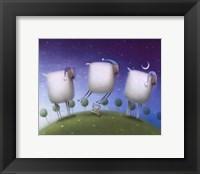 Framed Insomniac Sheep