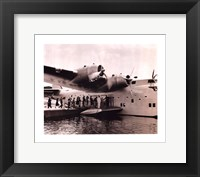 Framed Clipper Flying Boat