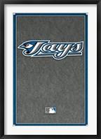 Framed Toronto Blue Jays - Logo