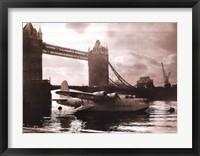 Framed Flying Boat - London