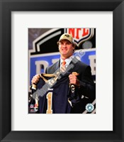 Framed Chris Long 2008 Draft Day -  NFL Draft # 2 Pick