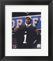 Framed Darren McFadden 2008 Draft Day - NFL Draft # 4 Pick