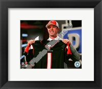 Framed Matt Ryan Draft Day - 2008 NFL Draft # 3 Pick