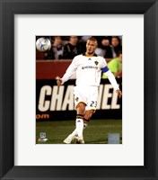 Framed David Beckham 2008 Action(#81)