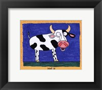 Framed Cow