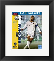 Framed David Beckham 2008 International Series(#95)