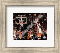 Framed Tim Duncan 2007-08 Playoff Action