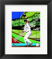 Framed Josh Willingham 2008 Fielding Action