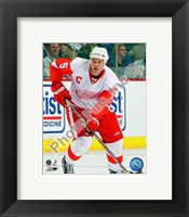 Framed Nicklas Lidstrom 2007-08 Away Action
