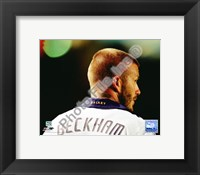 Framed David Beckham 2008 Action; #108