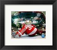 Framed Chris Osgood Game 2 of the 2008 NHL Stanley Cup Finals Action; #7