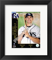 Framed Rocco Baldelli  2008 Studio Plus