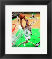 Framed Leon Powe, Game 2 of the 2008 NBA Finals; Action #6