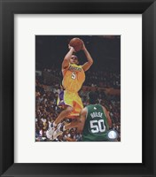 Framed Jordan Farmar, Game 3 of the 2008 NBA Finals; Action #10