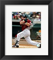 Framed Jeff Bagwell Batting Action