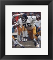 Framed Joe Greene Action
