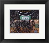 Framed TD Banknorth Garden, Game 6 of the 2008 NBA Finals; Celebration #28