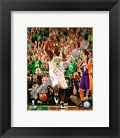 Framed Kevin Garnett, Game Six of the 2008 NBA Finals; Action #26