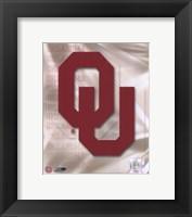 Framed Oklahoma University 2008 Logo