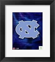 Framed University of North Carolina 2008 Logo