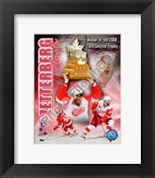 Framed Henrik Zetterberg 2007-08 NHL Conn Smyth Trophy Winner Portrait Plus